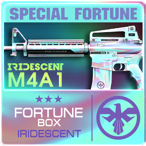 IRIDESCENT M4A1 BOX (Play Time)