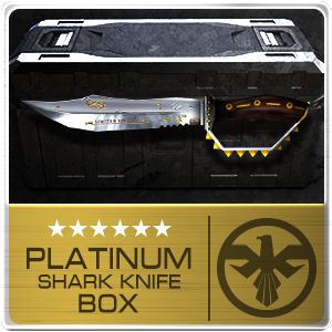 PLATINUM SHARK KNIFE BOX