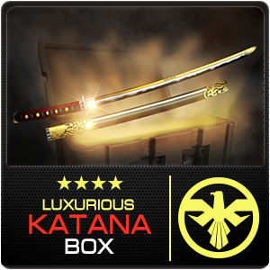 LUXURIOUS KATANA BOX