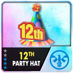 12TH PARTY HAT (30 Days) (Selected)