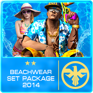 Beachwear Set Package (7 Days)