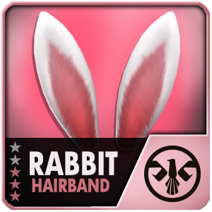 Rabbit Hairband (30 Days) (Selected)