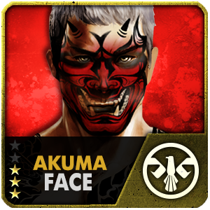 Akuma Face (14 Days) (Selected)