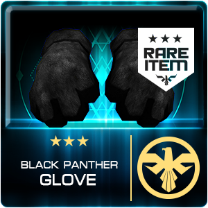 BLACK PANTHER GLOVES (SASR) (Permanent)