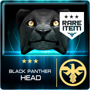 BLACK PANTHER HEAD (DELTAFORCE) (Permanent)