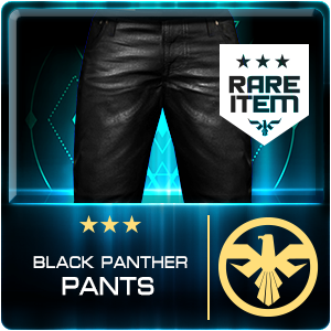 BLACK PANTHER PANTS (GIGN) (Permanent)