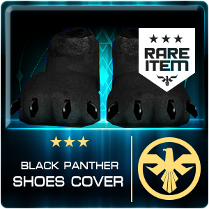 BLACK PANTHER SHOES COVER (DELTAFORCE) (Permanent)