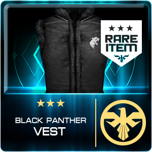 BLACK PANTHER VEST (EID) (Permanent)