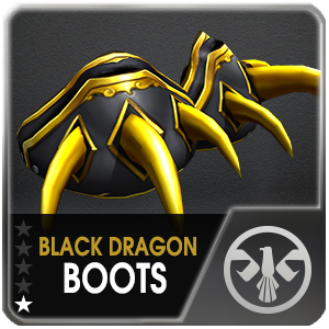 BLACK DRAGON BOOTS (SSD) (1 Day)