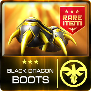 BLACK DRAGON BOOTS (DELTA) (Permanent)