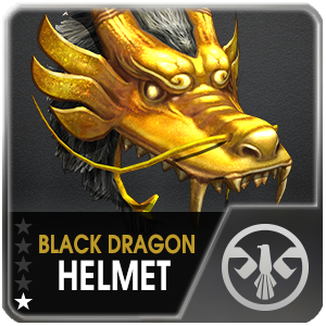 BLACK DRAGON HELMET (DELTA) (1 Day)