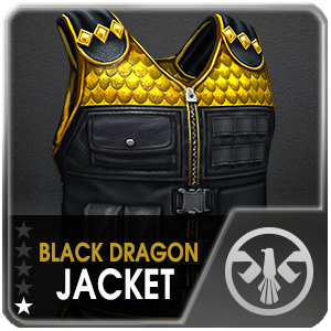 BLACK DRAGON JACKET (DELTA) (1 Day)
