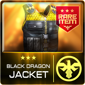 BLACK DRAGON JACKET (PSU) (Permanent)