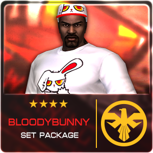 BLOODY BUNNY SET PACKAGE (28 Days)