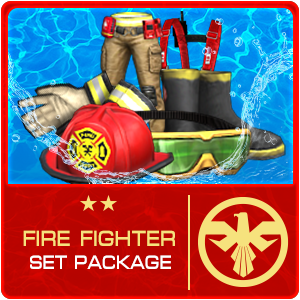FIRE FIGHTER SET Package (30 Days)