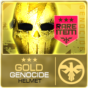 GOLD GENOCIDE HELMET (DELTAFORCE) (Permanent)