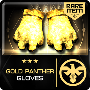 GOLD PANTHER GLOVES (SRG) (Permanent)