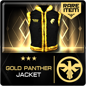 GOLD PANTHER JACKET (SPETZ) (Permanent)
