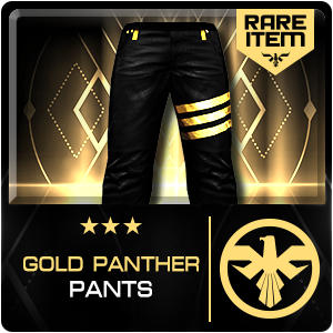 GOLD PANTHER PANTS (PSU) (Permanent)