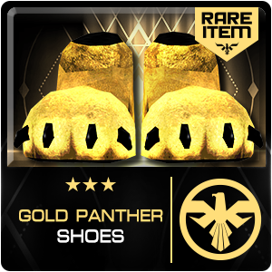 GOLD PANTHER SHOES (SIAM) (Permanent)