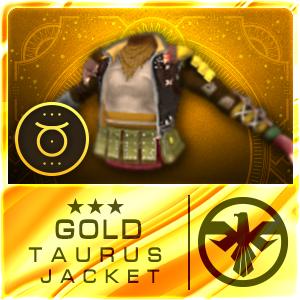 GOLD TAURUS JACKET (SIAM) (Permanent)