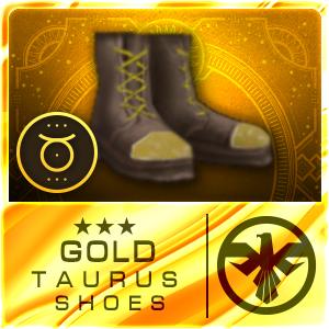 GOLD TAURUS SHOES (SAS) (Permanent)
