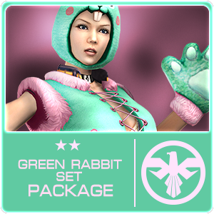 GREEN RABBIT SET Package (7 Days)