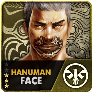 Hanuman Face (15 Days)