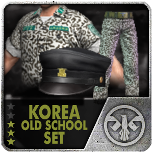 KOREA OLD SCHOOL SET Package (14 Days)