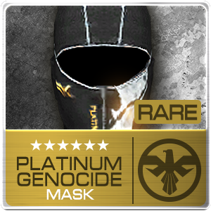 PLATINUM GENOCIDE MASK (PSU) (Permanent)
