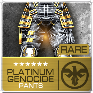 PLATINUM GENOCIDE PANTS (PSU) (Permanent)