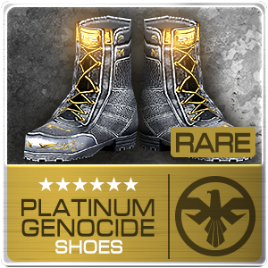 PLATINUM GENOCIDE SHOES (EID) (Permanent)