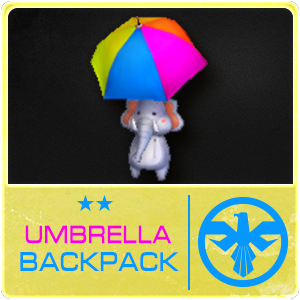 Umbrella Backpack (14 Days) (Selected)