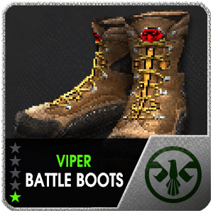 VIPER BATTLE BOOTS (EID) (1 Day)