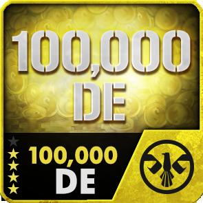 100,000 DE