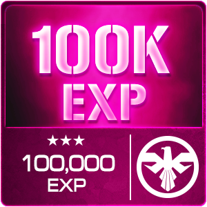100,000 EXP