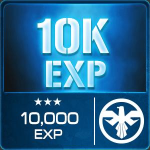 10,000 EXP