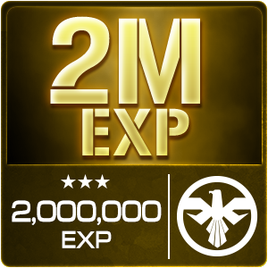 2,000,000 EXP