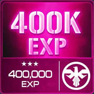 400,000 EXP