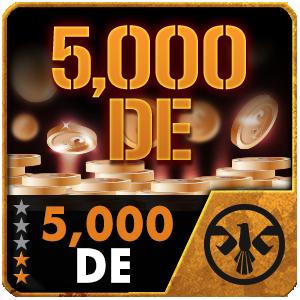 5,000 DE