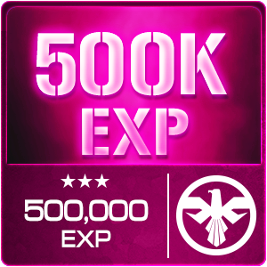 500,000 EXP