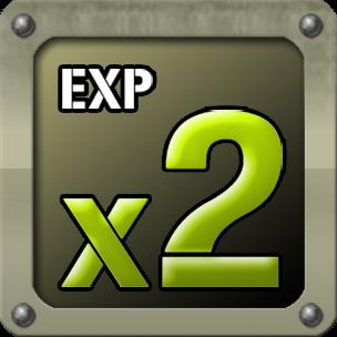 EXP x2 (7 Days)