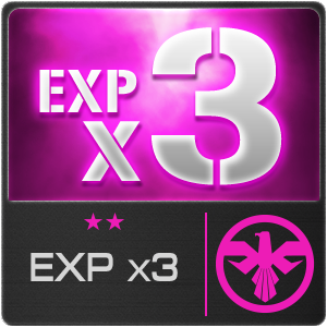 EXP x3 (1 Day)