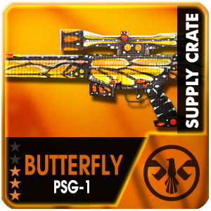 Supply Crate BUTTERFLY PSG-1 (7 Pieces)