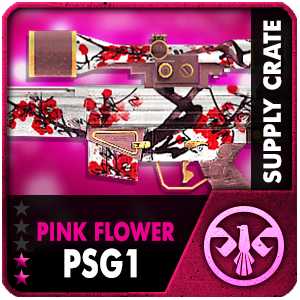 Supply Crate PINK FLOWER PSG-1 (7 ชิ้น)
