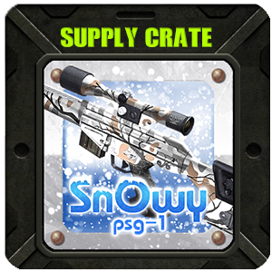 Supply Crate SNOWY PSG-1 (5 Pieces)