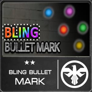 Bling Bullet Mark (1 ชิ้น)