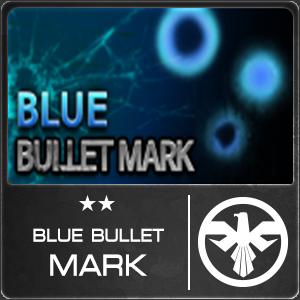 Blue Bullet Mark (1 ชิ้น)