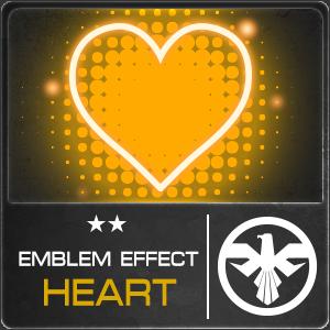 EMBLEM EFFECT HEART (1 ชิ้น)