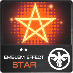 EMBLEM EFFECT STAR (1 ชิ้น)